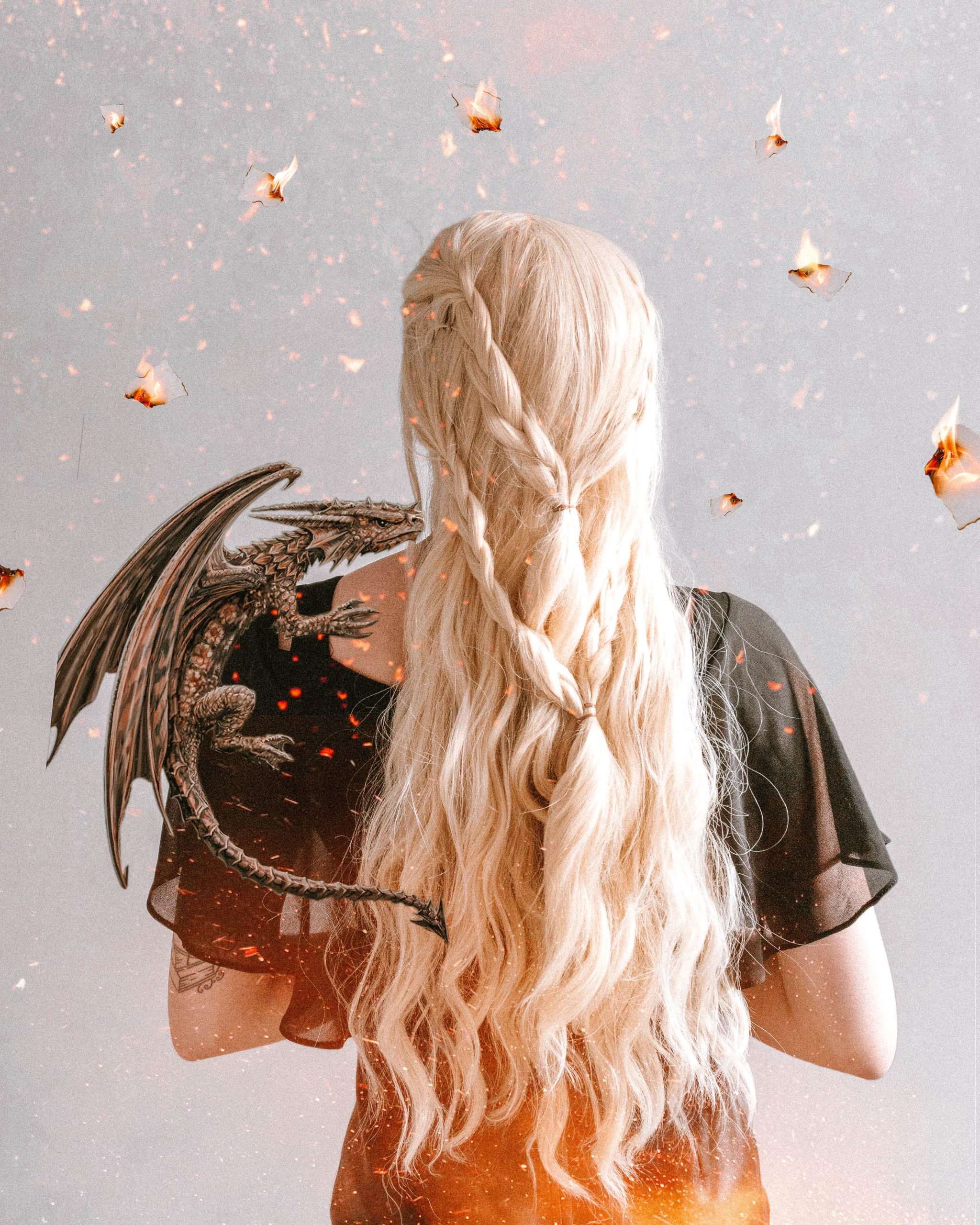 Game of thrones picture featuring Daenerys